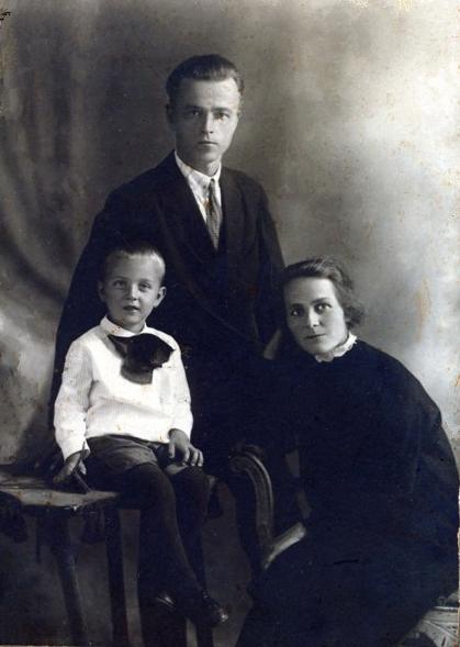 Семья Затекиных. 20 августа 1931 года.